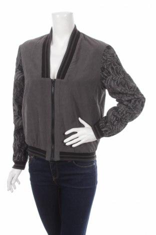 Дамско яке, Размер XS, Цвят Сив, 92% полиестер, 8% полиамид, Цена 12,20лв.