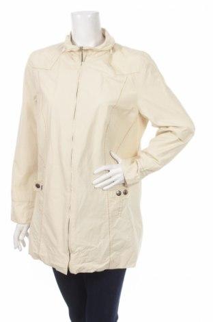 Дамско яке, Размер L, Цвят Бежов, 63% памук, 37% полиамид, Цена 10,40лв.