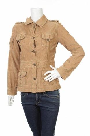 Дамско яке Cross Jeans, Размер M, Цвят Бежов, 100% памук, Цена 9,20лв.