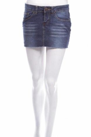 Пола Denim Co, Размер S, Цвят Син, 75% памук, 23% полиестер, 2% еластан, Цена 7,95лв.
