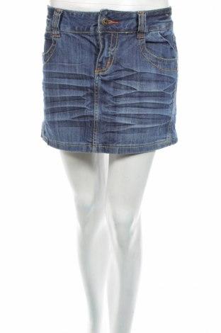 Φούστα Hydee by Chicoree, Μέγεθος L, Χρώμα Μπλέ, 98% βαμβάκι, 2% ελαστάνη, Τιμή 5,44€