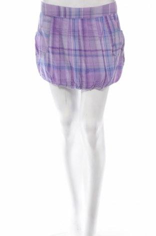 Φούστα Moodo, Μέγεθος M, Χρώμα Βιολετί, Βαμβάκι, Τιμή 2,78€