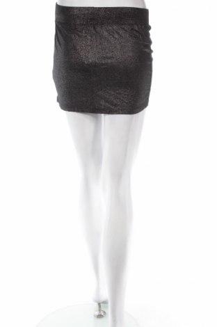 Φούστα Moodo, Μέγεθος XS, Χρώμα Ασημί, Βισκόζη, Τιμή 3,34€