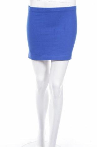 Fustă Moodo, Mărime M, Culoare Albastru, 95% bumbac, 5% elastan, Preț 35,47 Lei