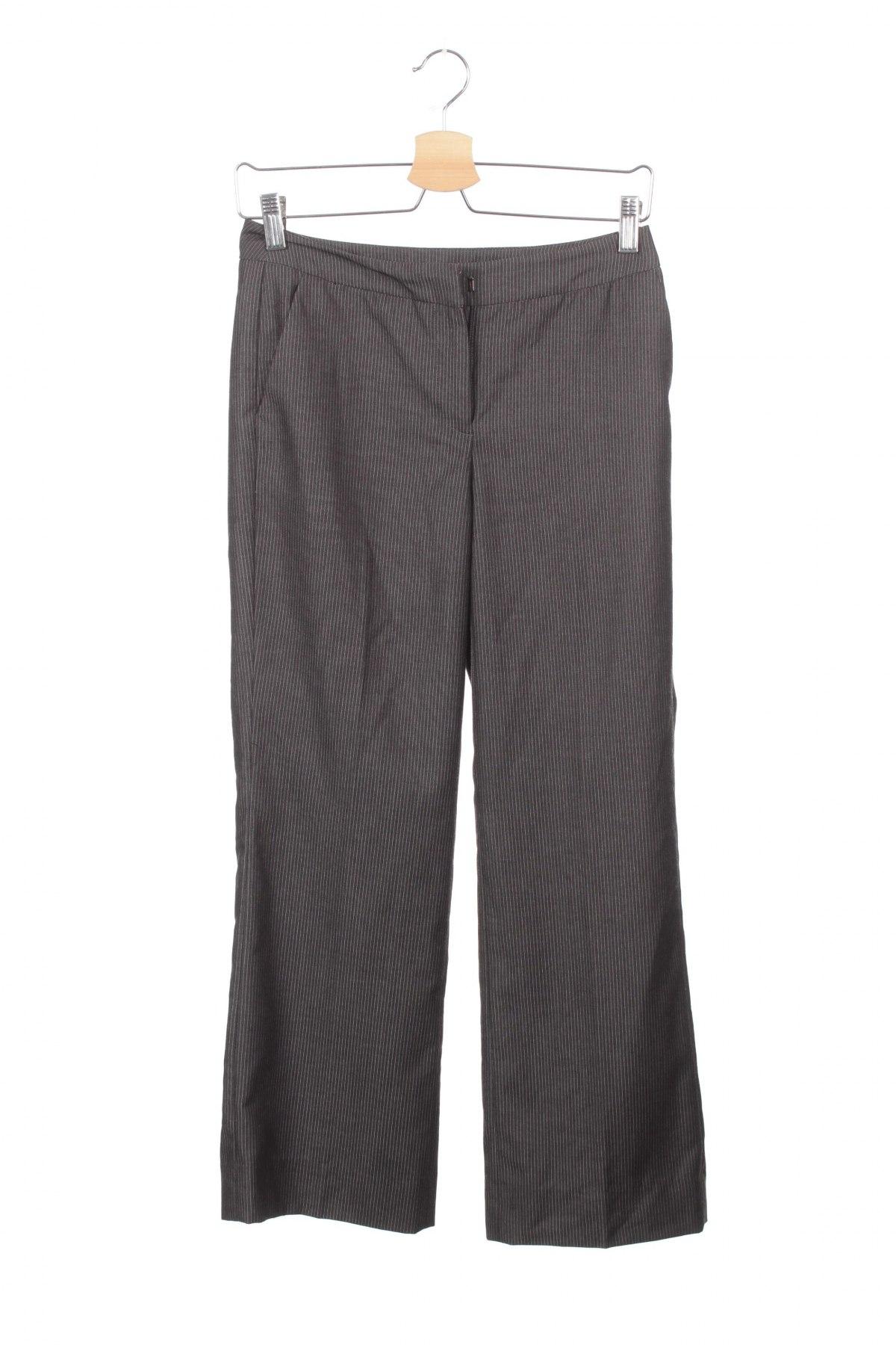Дамски панталон Nine West, Размер XS, Цвят Сив, 84% полиестер, 16% вискоза, Цена 7,82лв.