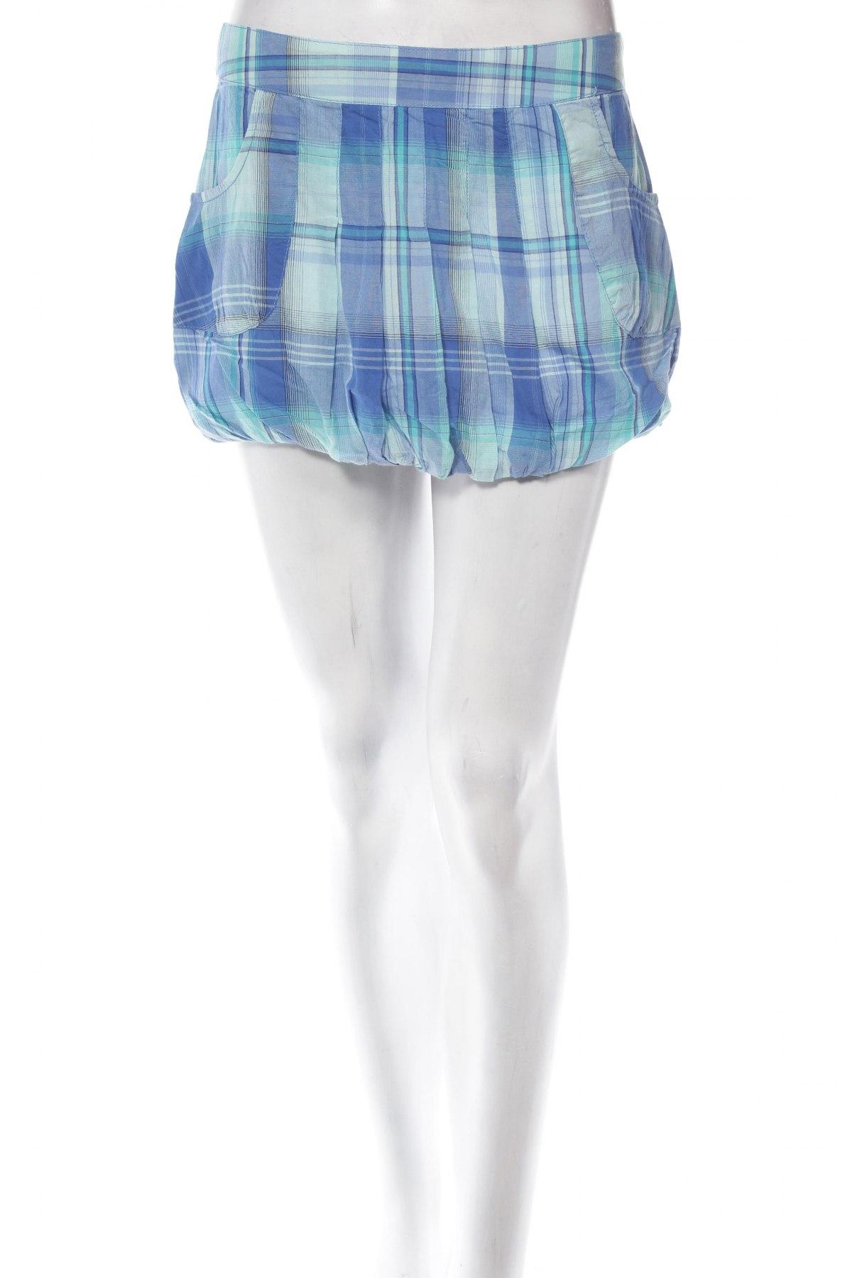 Φούστα Moodo, Μέγεθος S, Χρώμα Μπλέ, Βαμβάκι, Τιμή 3,16€