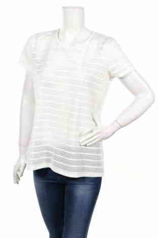 Дамска блуза, Размер L, Цвят Бял, 95% полиестер, 5% еластан, Цена 5,98лв.