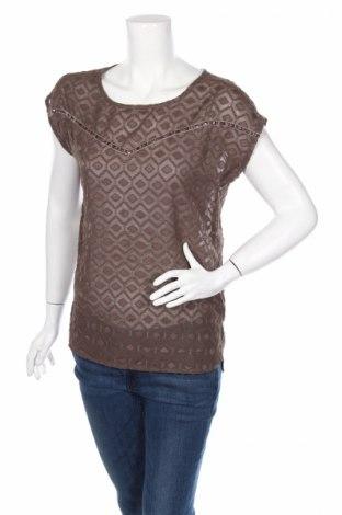 Γυναικεία μπλούζα Anna Scott, Μέγεθος S, Χρώμα Καφέ, Πολυεστέρας, Τιμή 3,03€