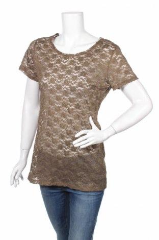 Дамска блуза H&M Conscious Collection, Размер M, Цвят Зелен, 51% полиестер, 37% полиамид, 12% еластан, Цена 5,61лв.