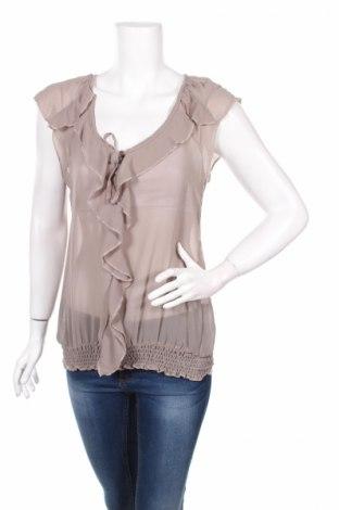 Дамска блуза Sorbet, Размер L, Цвят Бежов, Полиамид, Цена 9,57лв.