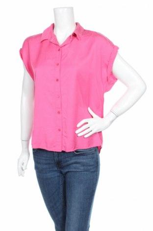 Дамска риза Tom Tailor, Размер M, Цвят Розов, Лиосел, Цена 12,60лв.