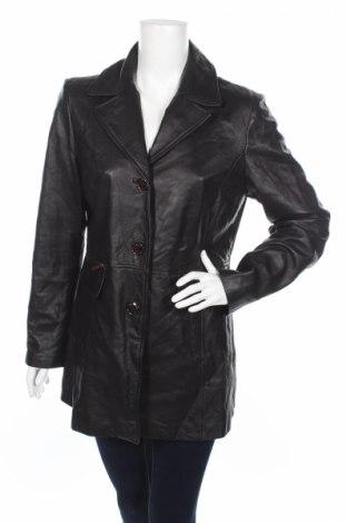 Dámsky kožený prechodný kabát  Kenneth Cole