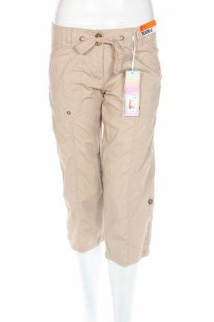 Дамски панталон Denim Co, Размер XS, Цвят Бежов, Памук, Цена 10,76лв.