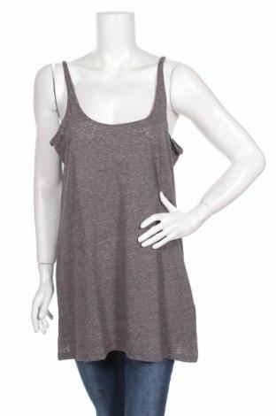 Γυναικείο αμάνικο μπλουζάκι Holy, Μέγεθος XS, Χρώμα Γκρί, 50% βαμβάκι, 50% πολυεστέρας, Τιμή 1,59€