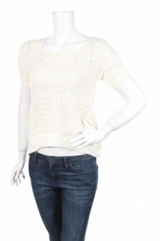 Дамски пуловер Oodji, Размер S, Цвят Бял, Цена 4,51лв.