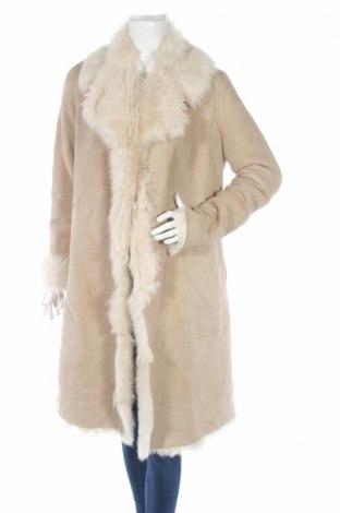 Δερμάτινο γυναικείο παλτό Hugo Boss