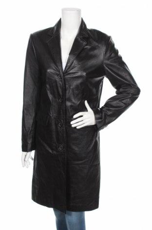 Dámsky kožený prechodný kabát  Hennes