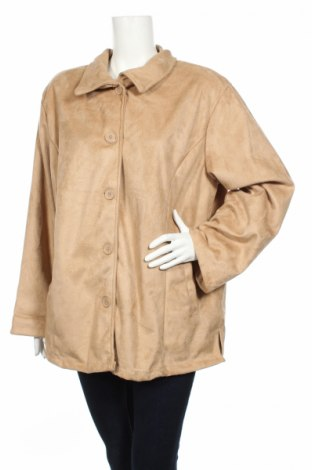 Дамско палто, Размер XL, Цвят Бежов, Полиестер, Цена 12,00лв.