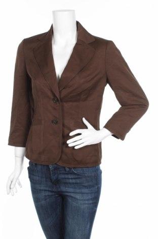 Дамско сако Ann Taylor, Размер M, Цвят Кафяв, 51% вискоза, 49% памук, Цена 9,36лв.