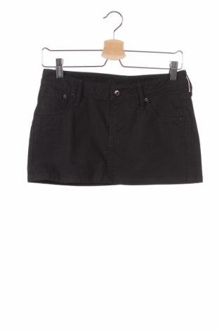 Детска пола H&M, Размер 14-15y/ 168-170 см, Цвят Черен, 98% памук, 2% еластан, Цена 6,83лв.