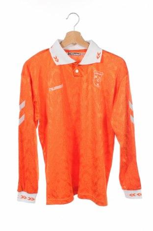 Детска спортна блуза Hummer, Размер 12-13y/ 158-164 см, Цвят Оранжев, Полиестер, Цена 3,15лв.