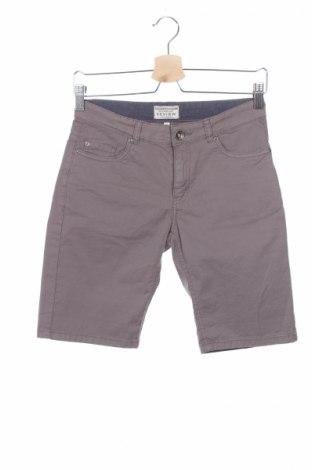 Detské krátke nohavice  Review, Veľkosť 11-12y/ 152-158 cm, Farba Sivá, 98% bavlna, 2% elastan, Cena  10,17€