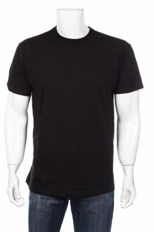 Мъжка тениска Fruit Of The Loom, Размер L, Цвят Черен, Памук, Цена 14,84лв.