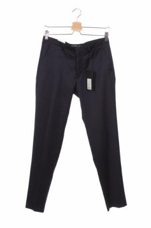 Мъжки панталон Drykorn for beautiful people, Размер S, Цвят Син, 72% вълна, 25% полиамид, 3% еластан, Цена 25,35лв.