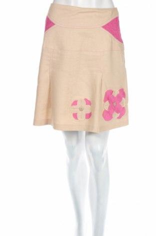 Φούστα, Μέγεθος XS, Χρώμα  Μπέζ, Τιμή 5,31€