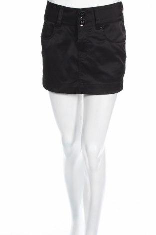 Φούστα Gina Jeans, Μέγεθος S, Χρώμα Μαύρο, 55% πολυεστέρας, 42% βαμβάκι, 3% ελαστάνη, Τιμή 4,80€