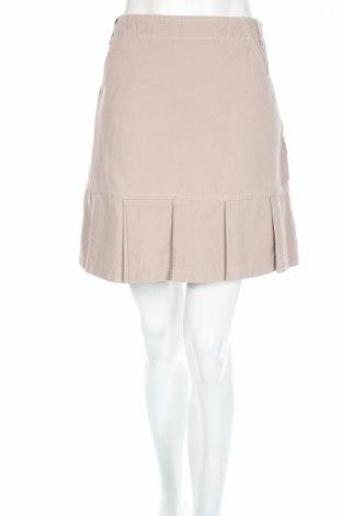 Φούστα Yessica, Μέγεθος M, Χρώμα  Μπέζ, Βαμβάκι, Τιμή 5,43€