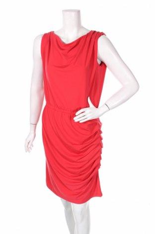 Рокля Patrizia Dini, Размер M, Цвят Червен, 95% полиестер, 5% еластан, Цена 17,25лв.