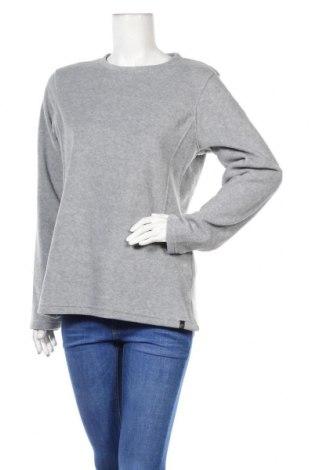 Дамска поларена блуза Long Board, Размер L, Цвят Сив, Полиестер, Цена 33,00лв.