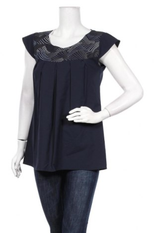 Γυναικεία μπλούζα Nitya, Μέγεθος S, Χρώμα Μπλέ, 63% πολυεστέρας, 35% βισκόζη, 2% ελαστάνη, Τιμή 8,18€