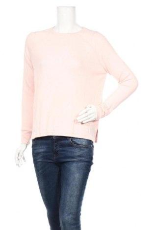 Дамска блуза Undiz, Размер S, Цвят Розов, 82% вискоза, 15% полиестер, 3% еластан, Цена 26,46лв.