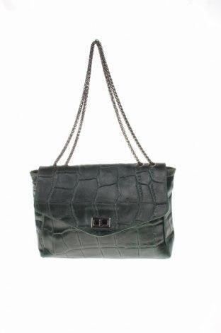 Дамска чанта Irl, Цвят Зелен, Естествена кожа, Цена 58,50лв.