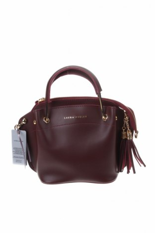 Дамска чанта Laura Ashley, Цвят Червен, Еко кожа, Цена 44,25лв.