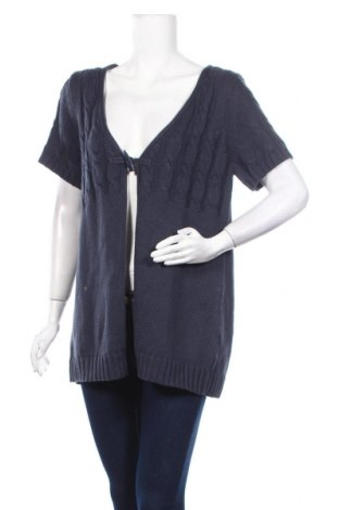 Дамска жилетка Arizona, Размер XL, Цвят Син, 50% памук, 50% полиакрил, Цена 7,35лв.