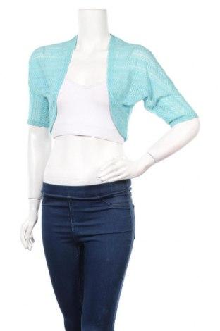 Γυναικεία ζακέτα Dressbarn, Μέγεθος XS, Χρώμα Μπλέ, 95% πολυαμίδη, 5% ελαστάνη, Τιμή 5,07€