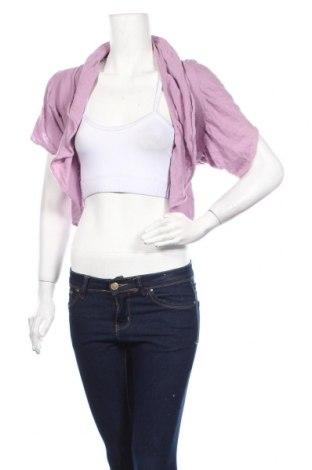 Γυναικεία ζακέτα Vero Moda, Μέγεθος S, Χρώμα Ρόζ , 55% ραμί, 45% βαμβάκι, Τιμή 4,68€