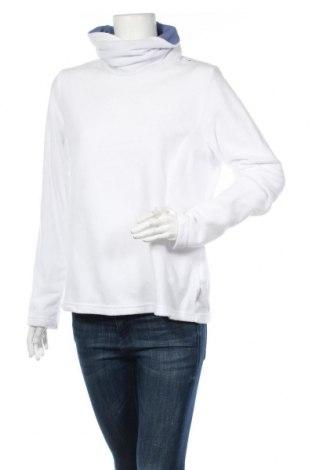 Дамска поларена блуза Quechua, Размер L, Цвят Бял, Полиестер, Цена 7,98лв.