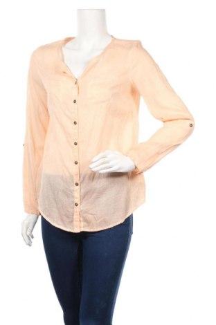 Дамска риза Ajc, Размер S, Цвят Оранжев, Памук, Цена 4,73лв.