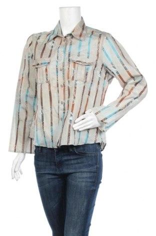 Дамска риза Andrea, Размер L, Цвят Многоцветен, 60% памук, 40% полиестер, Цена 4,20лв.