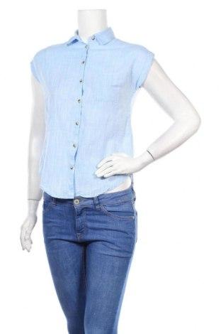 Дамска риза Anko, Размер XS, Цвят Син, Памук, Цена 19,20лв.