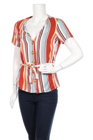 Дамска риза F&F, Размер S, Цвят Многоцветен, Вискоза, Цена 6,80лв.