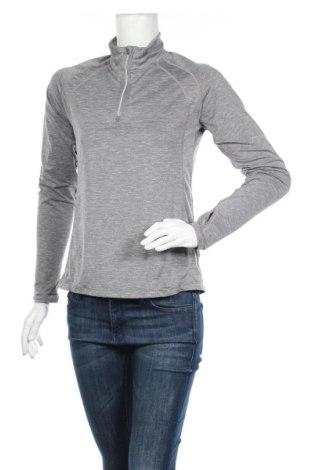 Дамска спортна блуза Rohnisch, Размер M, Цвят Сив, 93% полиестер, 7% еластан, Цена 8,82лв.