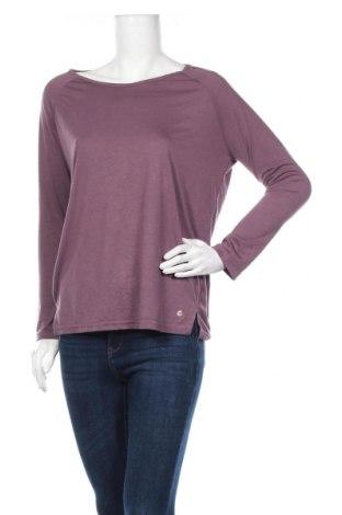 Дамска спортна блуза Active By Tchibo, Размер M, Цвят Лилав, 65% полиестер, 35% вискоза, Цена 5,04лв.