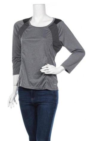 Дамска спортна блуза Body Zone, Размер M, Цвят Сив, Полиестер, Цена 8,82лв.