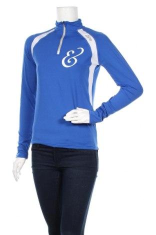 Дамска спортна блуза Cona Sports, Размер S, Цвят Син, 88% полиестер, 12% еластан, Цена 8,98лв.