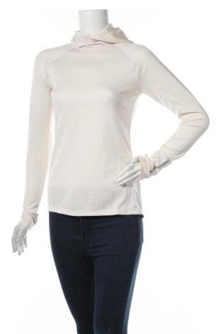 Дамска спортна блуза H&M Sport, Размер S, Цвят Бежов, 89% полиестер, 11% еластан, Цена 28,50лв.